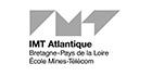 Partenaires_Logo IMT Atlantique Bretagne - Pays de la Loire École Mines-Télécom