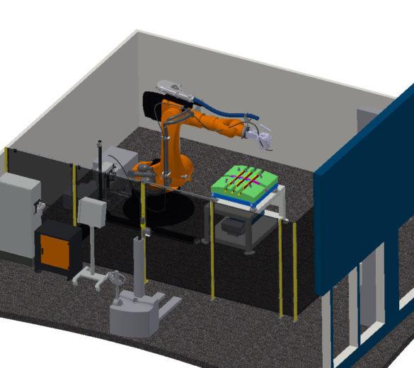 SIDEFFECT - Cellule robotisée de soudage dynamaique par induction -Europe Technologies