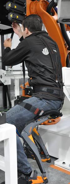 Exosquelette - Posture assis debout
